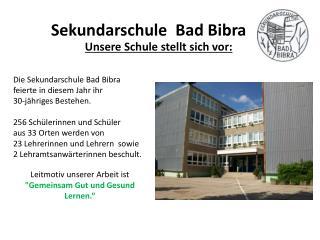 Unsere Schule stellt sich vor: