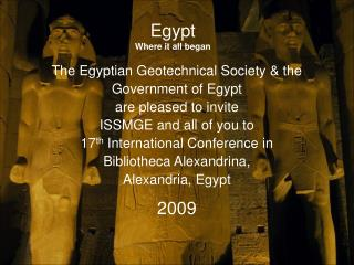 Egypt Where it all began