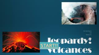 Jeopardy! Volcanoes