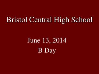 Bristol Central High School