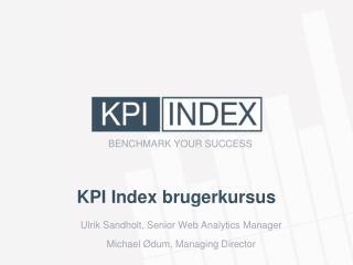 KPI Index brugerkursus