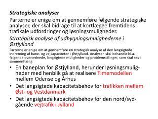 Strategiske analyser