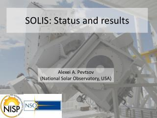 SOLIS: Status and results