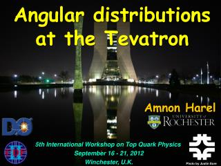 5th  International Workshop on Top Quark Physics   September  16  -  21, 2012  Winchester, U.K.