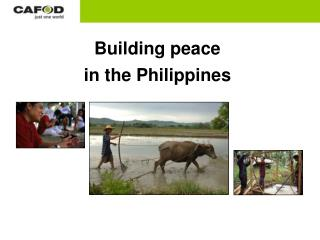 Building peace in the Philippines