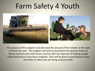 Farm Safety 4 Youth