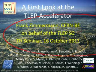 A First Look at the  TLEP Accelerator
