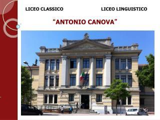 LICEO  CLASSICO                        LICEO LINGUISTICO
