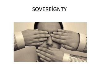 SOVEREİGNTY