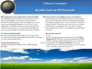 Tobacco Cessation Now