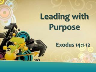 Leading with Purpose Exodus  14:1-12
