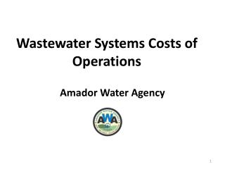 Wastewater Systems Costs of Operations