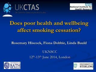 UKNSCC 12 th -13 th June 2014,  London