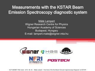 Measurements with  the  KSTAR  B eam Emission Spectroscopy diagnostic system