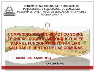 CENTRO DE INVESTIGACIONES PSQUIÁTRICAS, PSICOLÓGICAS Y SEXOLÓGICAS DE VENEZUELA
