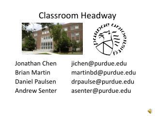 Classroom Headway