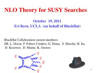 NLO Theory for  SUSY  Searches