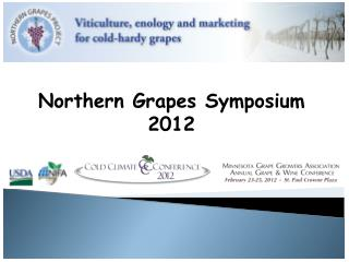Northern Grapes Symposium 2012