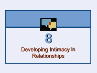 Developing Intimacy in Relationships