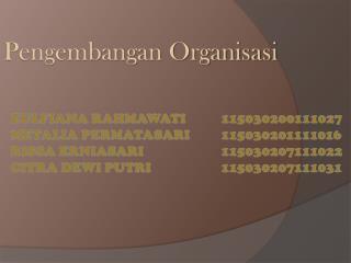 Pengembangan Organisasi