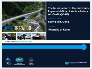 The Introduction of the outcomes; Implementation of Vehicle Indoor  Air Quality(VIAQ)