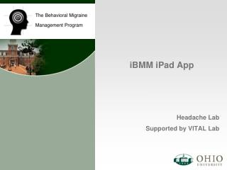 iBMM iPad  App