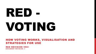 Red - Voting