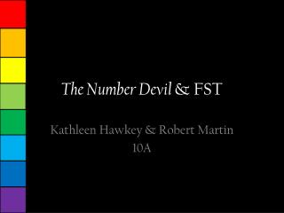 The  Number Devil  & FST