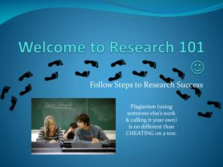 Welcome to Research 101  