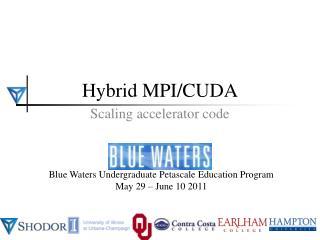 Hybrid MPI/CUDA