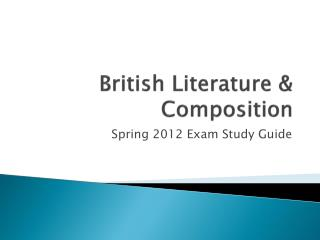 British Literature & Composition