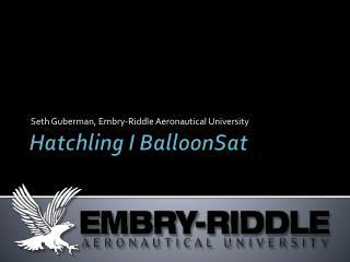 Hatchling I  BalloonSat