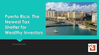 Puerto Rico tax shelter