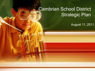 Cambrian School District Strategic Plan