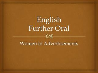 English Further Oral
