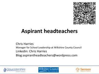 Aspirant  headteachers