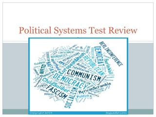 Political Systems Test Review