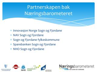 Partnerskapen  bak Næringsbarometeret