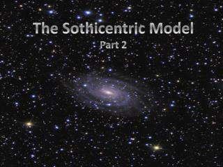 The  Sothicentric  Model Part 2