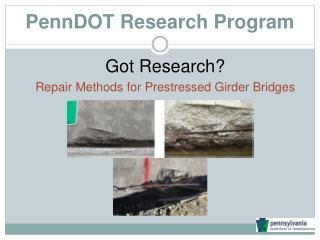 PennDOT Research Program