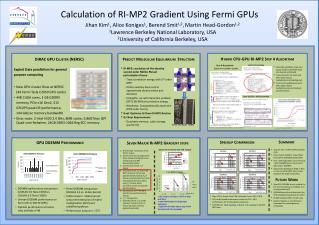 Calculation of RI-MP2 Gradient Using Fermi GPUs