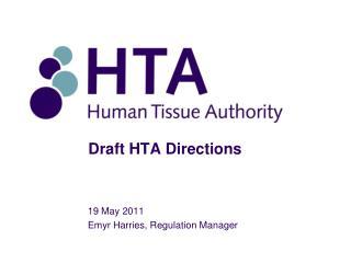 Draft HTA Directions