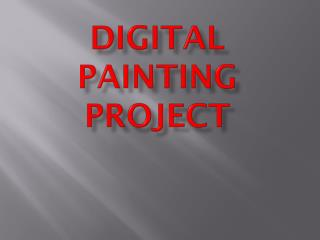 Digital Painting Project