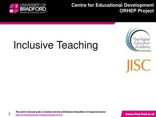 Inclusive Teaching
