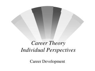 Career Theory  Individual Perspectives