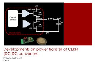 Developments on power transfer at CERN (DC-DC converters)