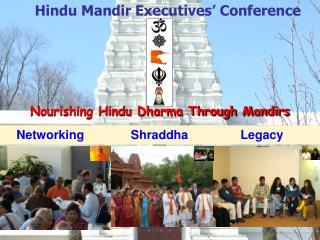 Nourishing Hindu Dharma Through Mandirs
