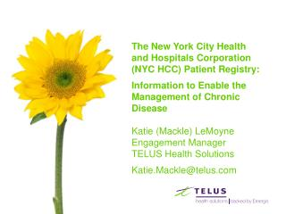 The New York City Health and Hospitals Corporation (NYC HCC) Patient Registry: