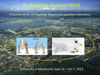 A lecture series on relativity theory and quantum mechanics