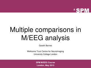 Multiple comparisons in M/EEG analysis